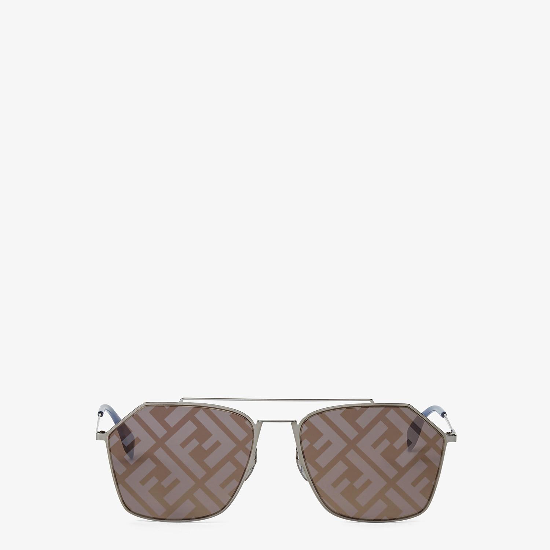 FENDI EYELINE - Gray sunglasses - view 1 detail