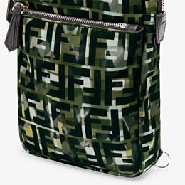 FENDI GÜRTELTASCHE - Rucksack für eine Schulter aus Nylon in Mehrfarbig - view 5 thumbnail