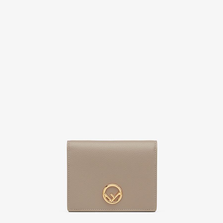 FENDI BIFOLD - Portafoglio compatto in pelle beige - vista 1 dettaglio