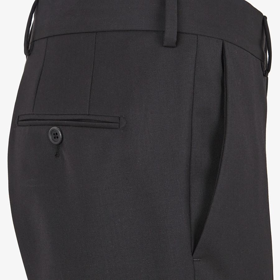FENDI KLEID - Anzug aus Wolle in Schwarz - view 5 detail